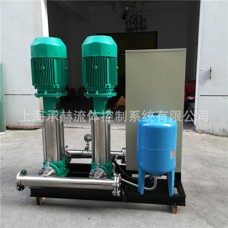 进口威乐不锈钢变频恒压供水设备一用一备