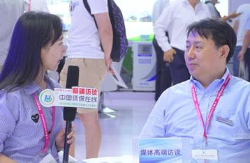 中国环保在线专访先河环保董事总裁陈荣强