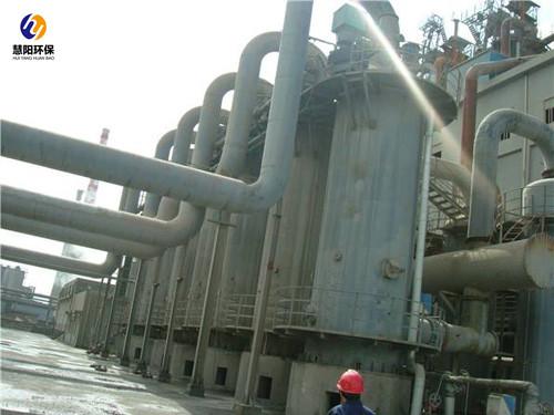 分析电捕焦油器的烟气处理流程