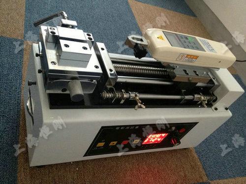 卧式电动测试架