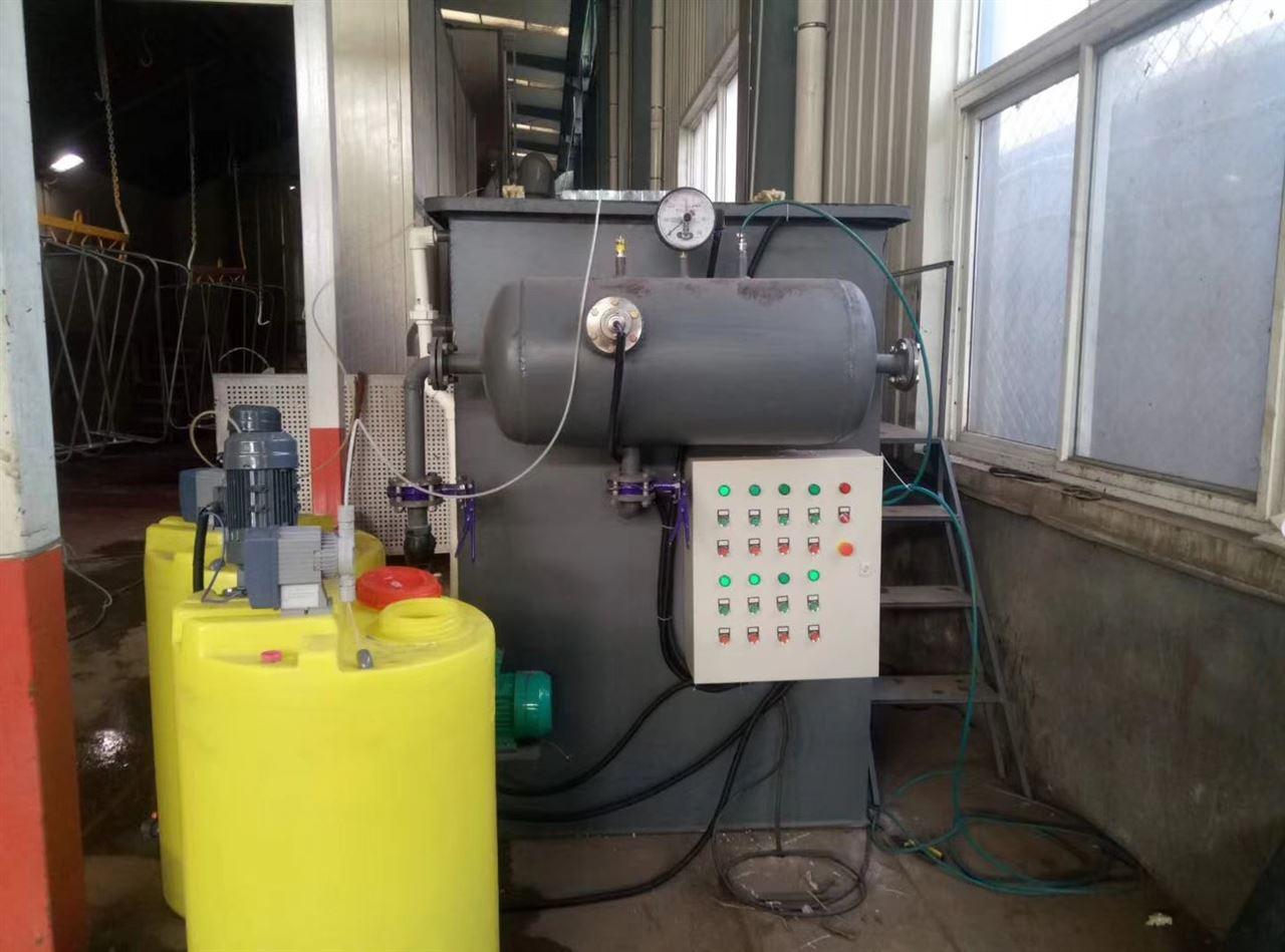 水处理 污水处理设备 气浮机 河南省渑池县溶气气浮机  气浮原理是向