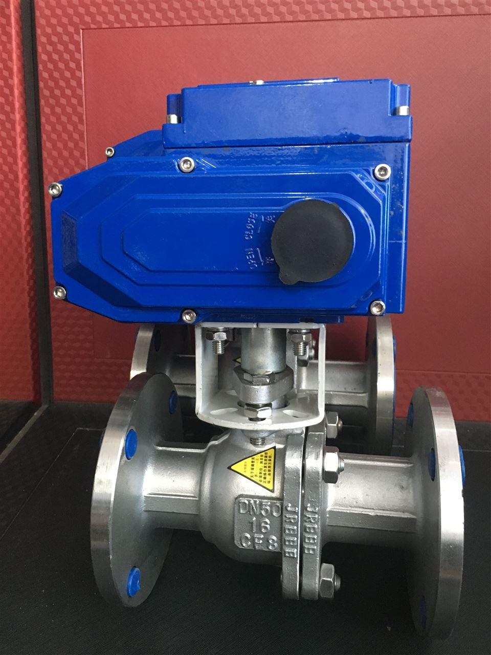 q941f-电动不锈钢球阀厂家图片