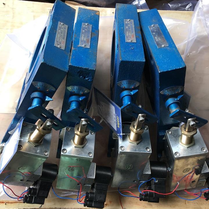 烟气窑气专用气动双位蝶阀DQSW2资料