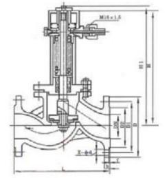 介质即可通过,如遇其他紧急情况时,将手摇油泵的卸压阀打开,油压系统图片