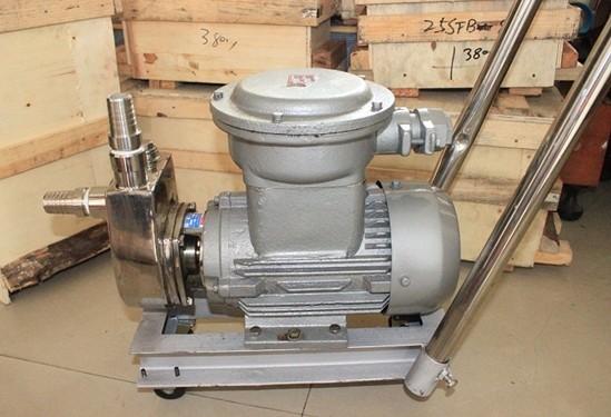 移动式小流量自吸泵