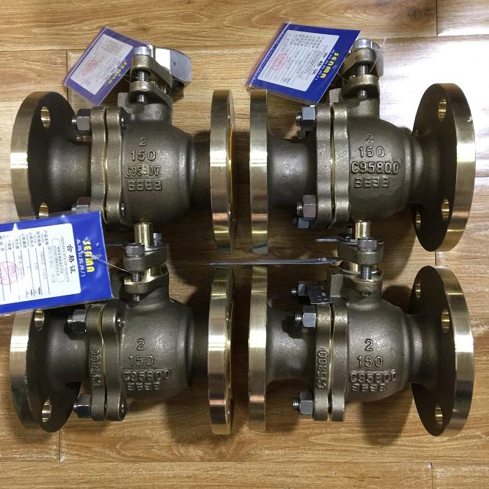 C95800镍铝青铜法兰球阀Q41F-150LB