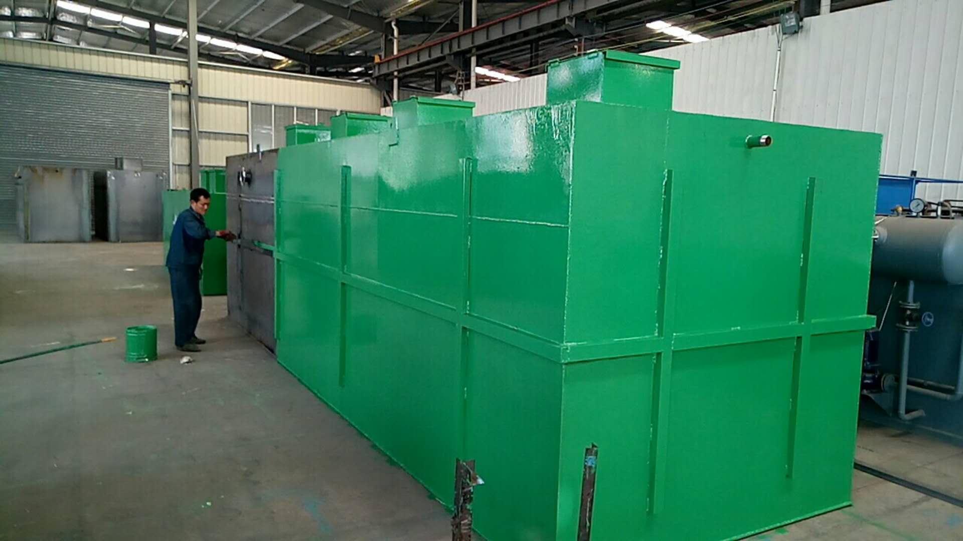 b,动力电源由本电站提供,进入污水处理站动力配电柜 气浮设备操作
