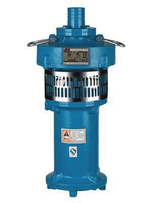 充油式潜水泵